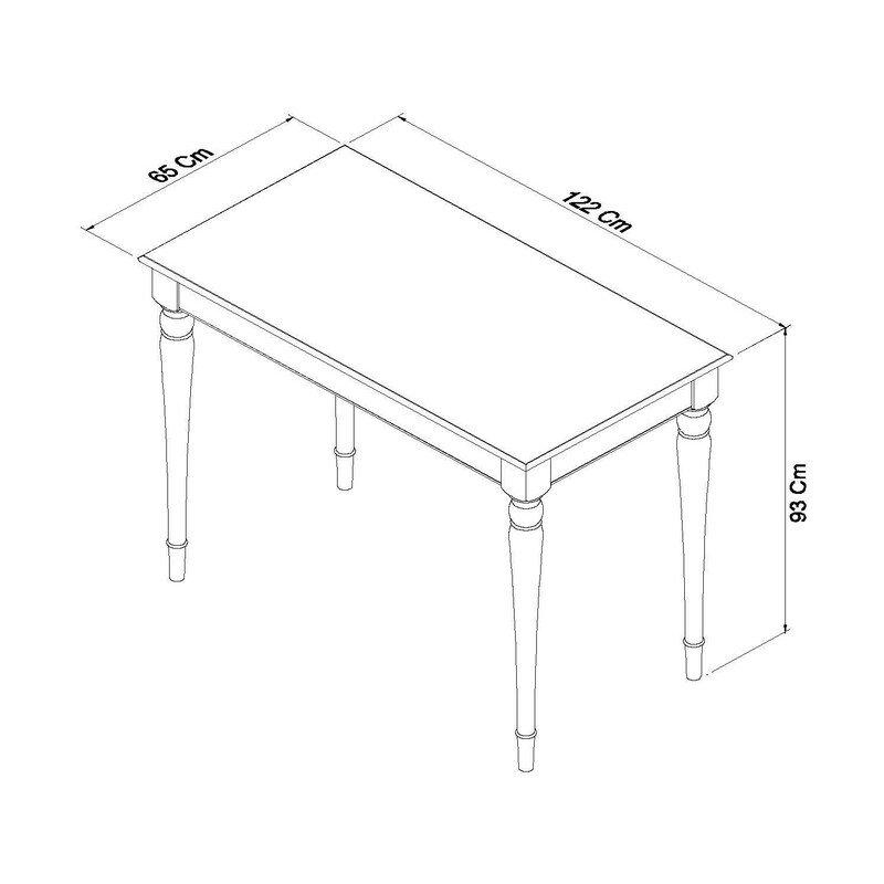 Hampstead Bar Table dimensions