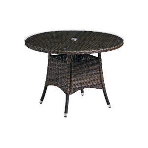 Garden Dining Table (Brown)