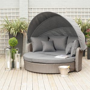 Slate Grey Barbados Day Bed