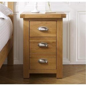 Woburn 3 Drawer Bedside