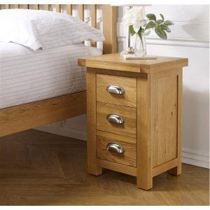 Woburn 3 Drawer Mini Bedside