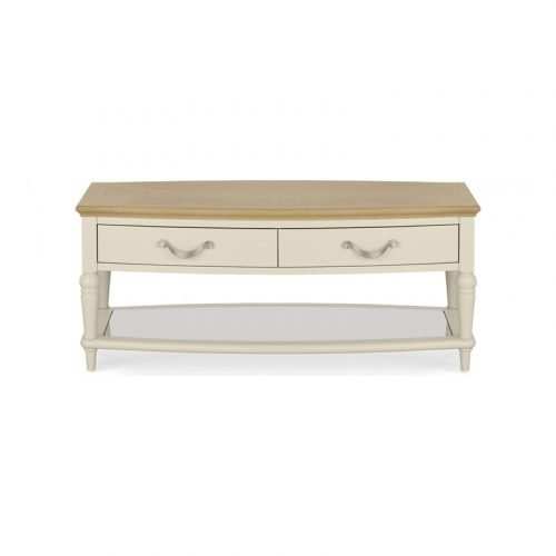 Montreux Pale Oak Coffee Table With Drawers