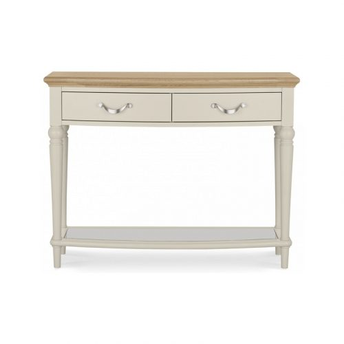Montreux Pale Oak Console Table With Drawers
