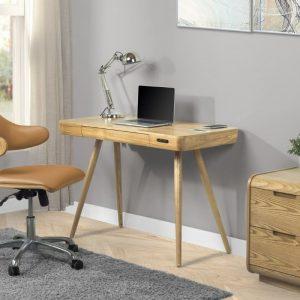 San Francisco Oak Smart Desk